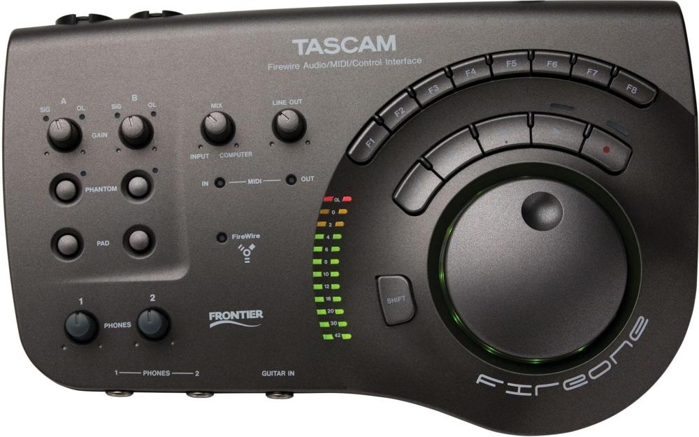 Звуковые карты Tascam FireOne