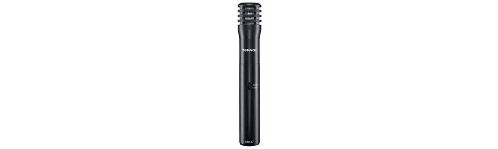 Все Микрофоны Shure SM137 LC