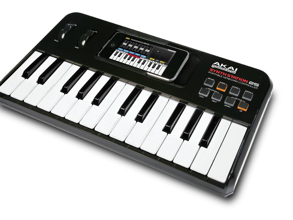 Midi-клавиатуры Akai SynthStation25