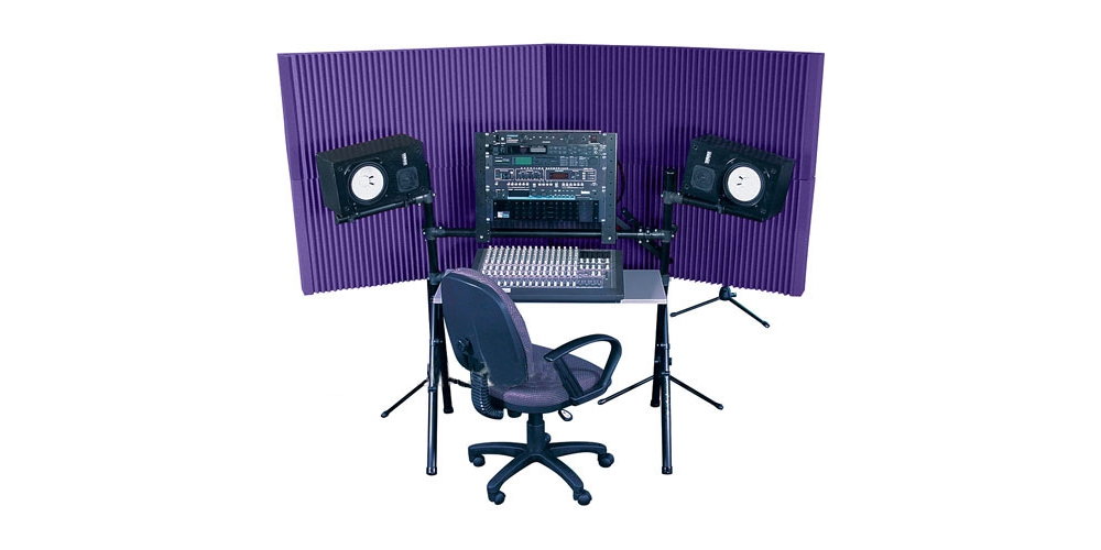 Наборы звукопоглащающих материалов Auralex Max-Wall 420 Purple
