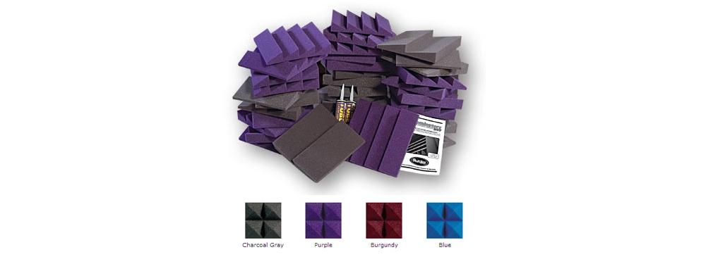 Наборы звукопоглащающих материалов Auralex D36-DST Kit Purple