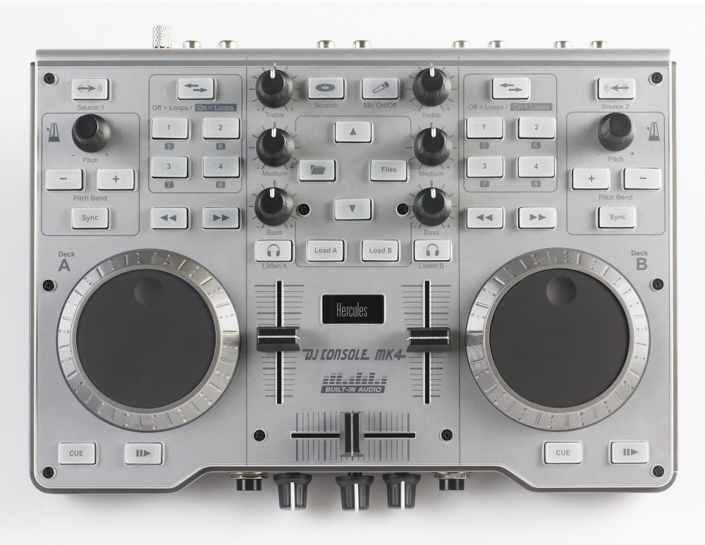 DJ-контроллеры Hercules DJ Console Mk4