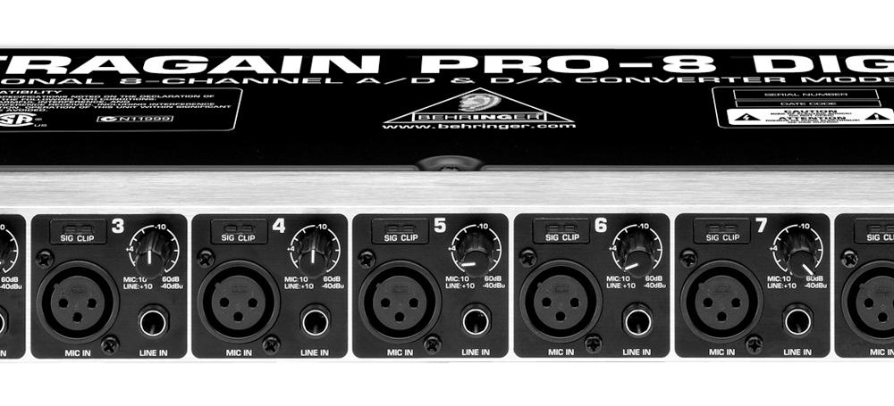 Аудио конверторы, рекордеры Behringer ADA8000