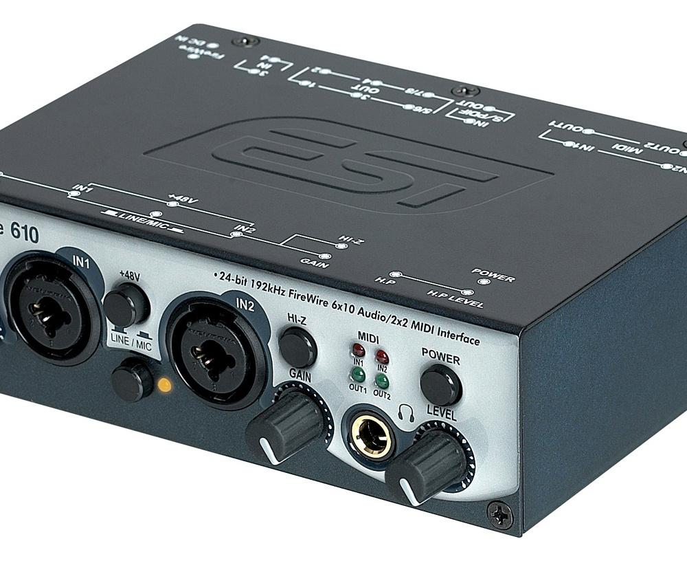 Звуковые карты ESI QuataFire 610