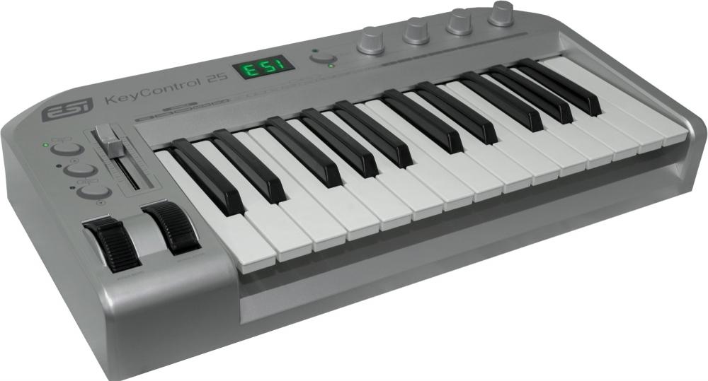 Midi-клавиатуры ESI KeyControl 25 XL