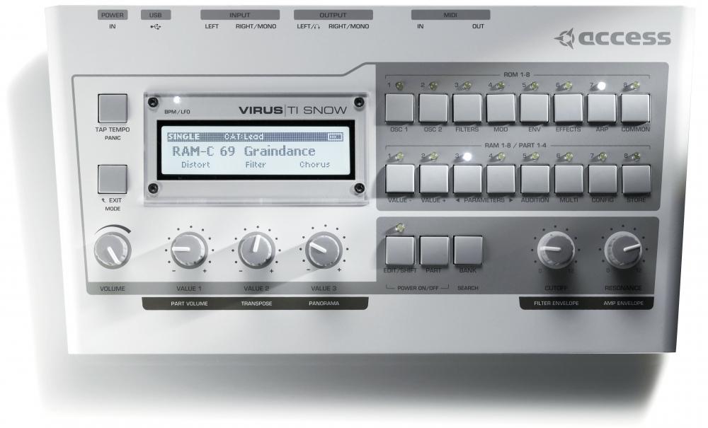 Синтезаторы и рабочие станции Access Virus TI Snow