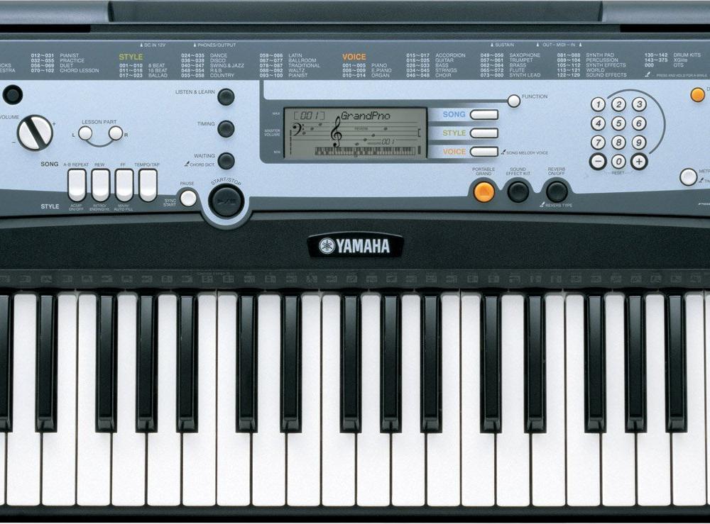 Синтезаторы и рабочие станции Yamaha PSR-E213