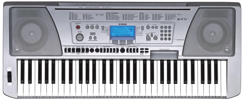 Синтезаторы и рабочие станции Yamaha PSR-450