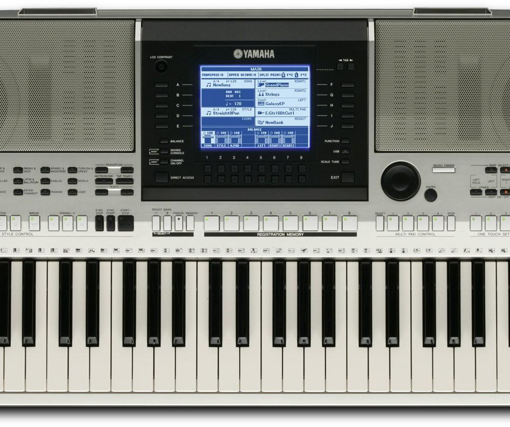 Синтезаторы и рабочие станции Yamaha PSR-OR700