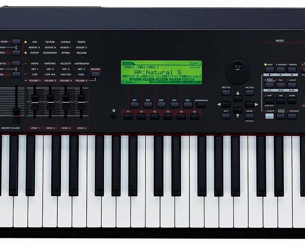 Синтезаторы и рабочие станции Yamaha S90ES