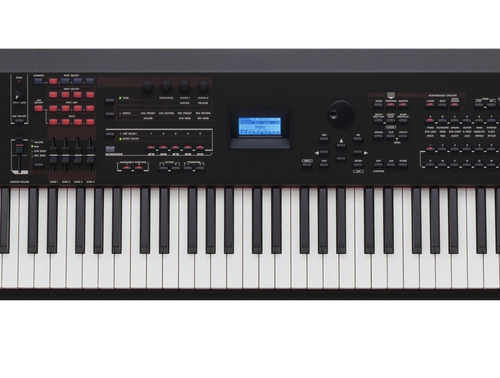 Синтезаторы и рабочие станции Yamaha S90XS