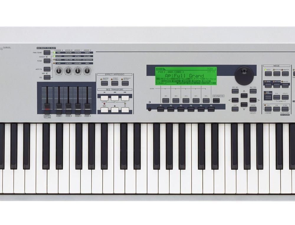 Синтезаторы и рабочие станции Yamaha MO8