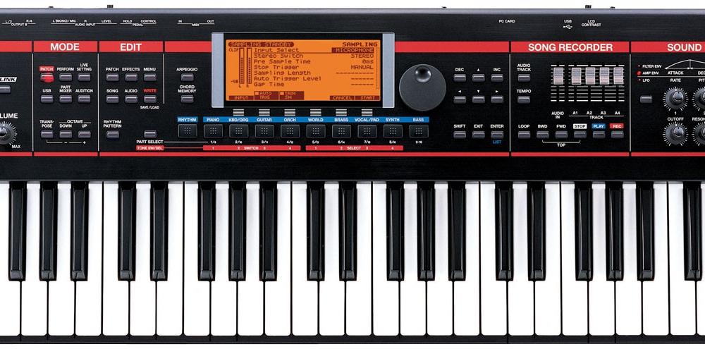 Синтезаторы и рабочие станции Roland Juno-G
