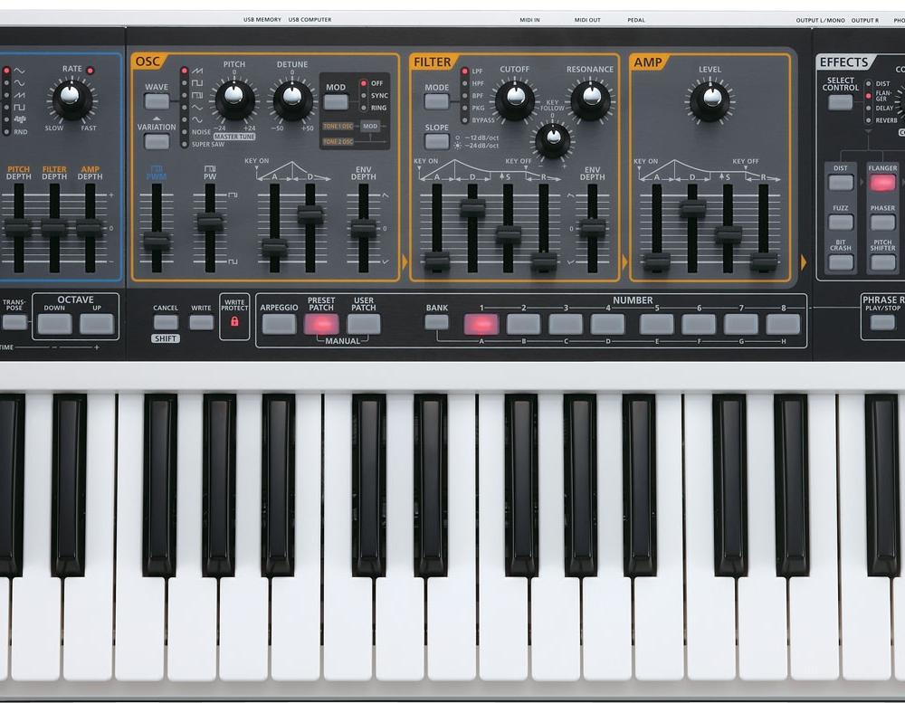 Синтезаторы и рабочие станции Roland Gaia SH-01