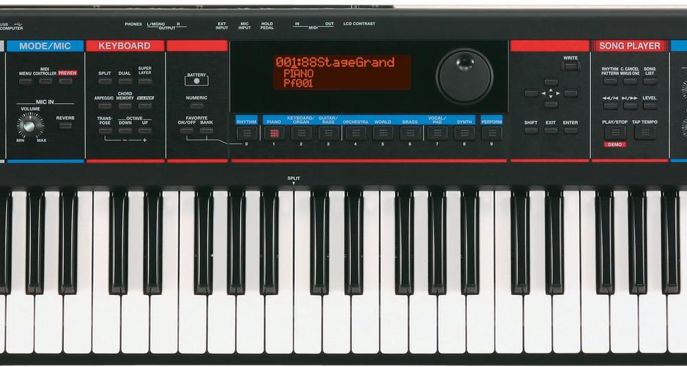 Синтезаторы и рабочие станции Roland Juno-Di