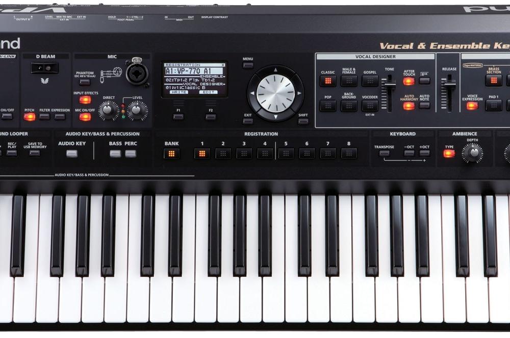 Синтезаторы и рабочие станции Roland VP-770