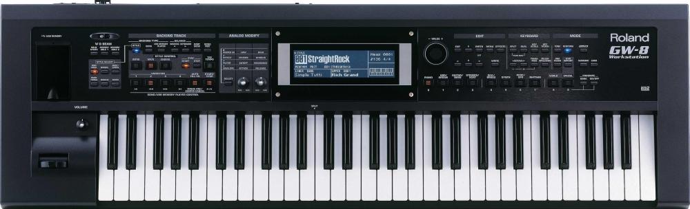 Синтезаторы и рабочие станции Roland GW-8
