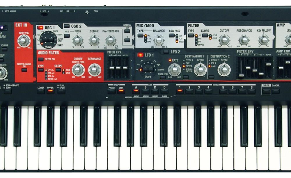 Синтезаторы и рабочие станции Roland SH-201