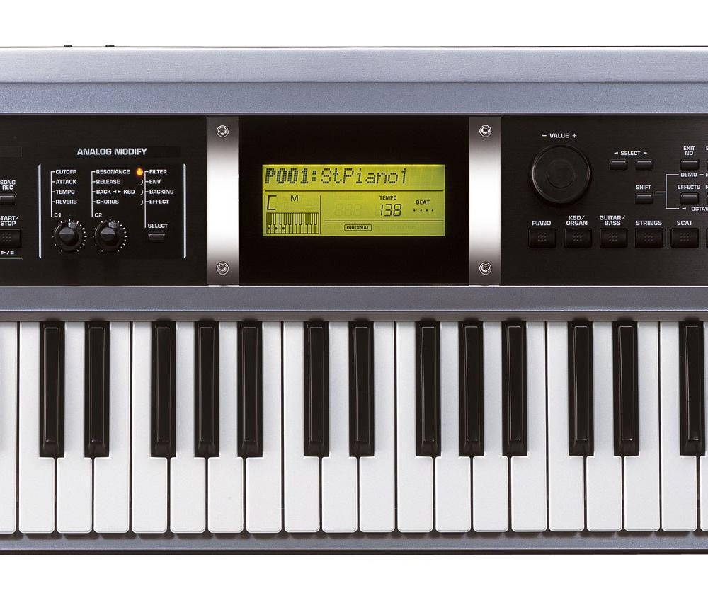Синтезаторы и рабочие станции Roland GW-7