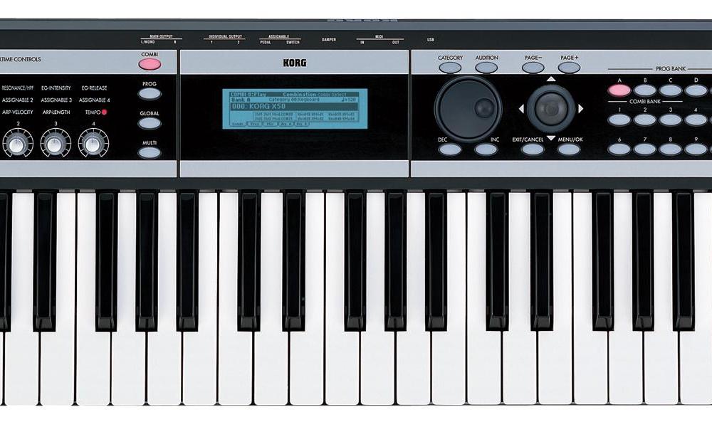 Синтезаторы и рабочие станции Korg X50