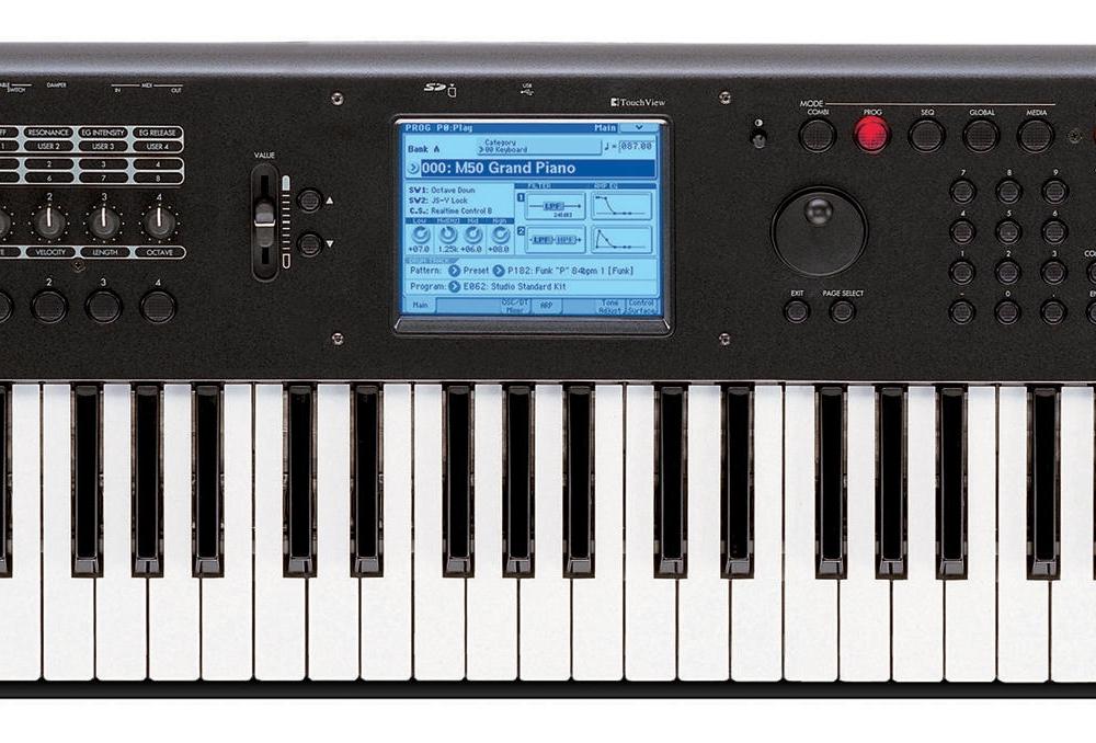 Синтезаторы и рабочие станции Korg M50