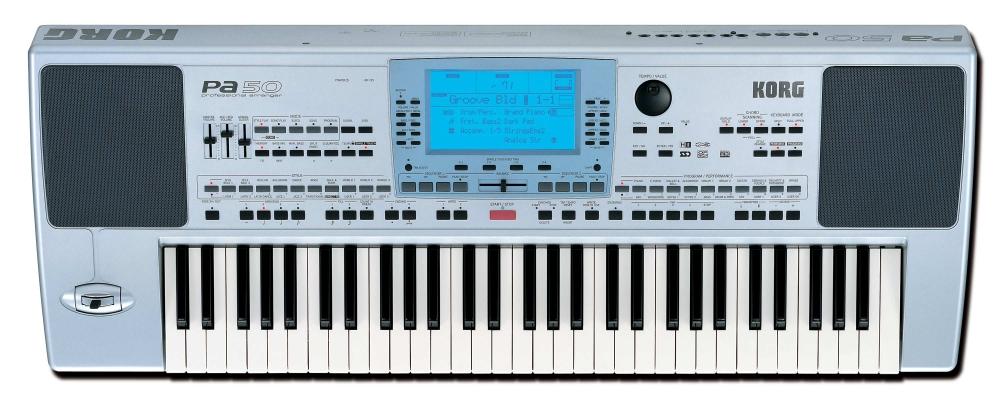 Синтезаторы и рабочие станции Korg PA 50