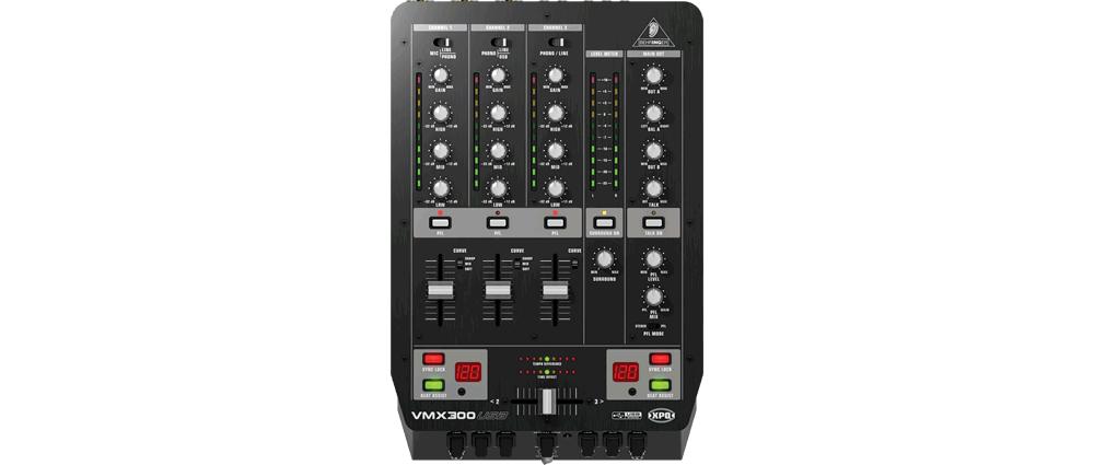 DJ-микшеры Behringer VMX 300 USB