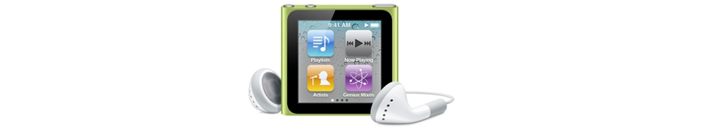 iPod nano Apple iPod nano 8Gb - Green [MC690]
