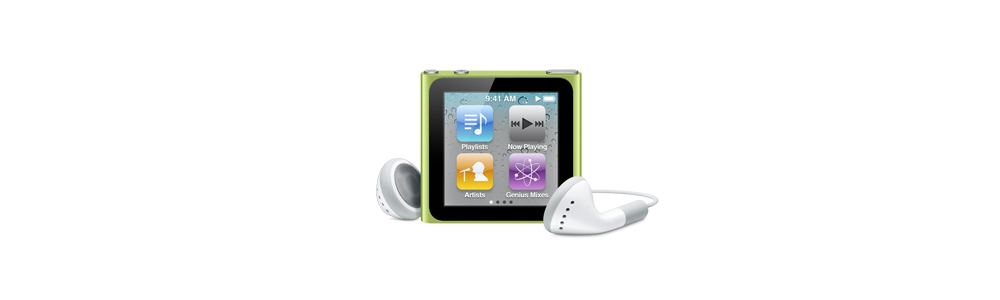 iPod nano Apple iPod nano 16Gb - Green [MC696]