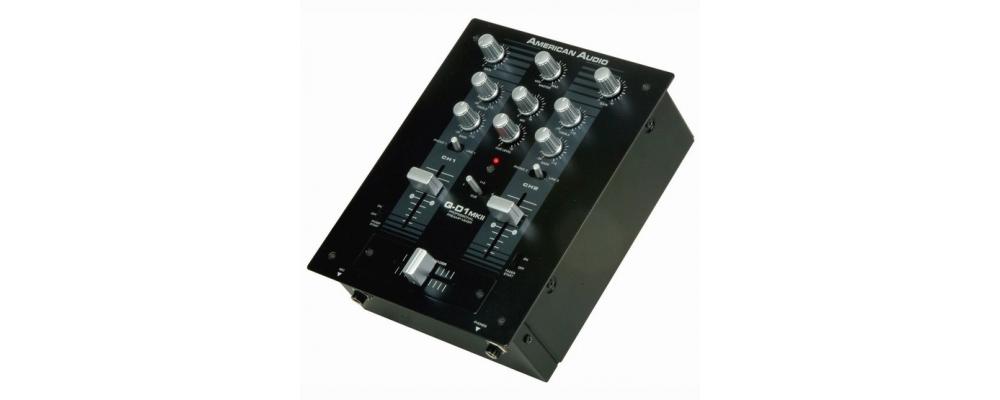 DJ-микшеры American Audio Q-D1 MK II