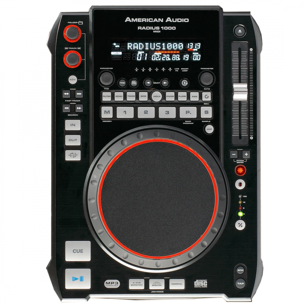 CD/USB-проигрыватели American Audio Radius 1000