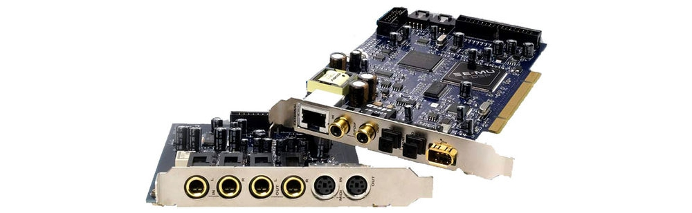 Звуковые карты Creative Professional E-Mu Emulator X 3