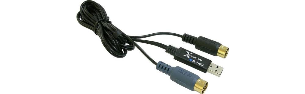 Звуковые карты Creative Professional E-Mu XMIDI 1X1 USB