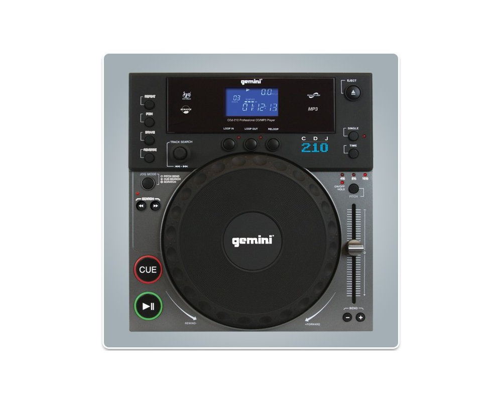 CD/USB-проигрыватели Gemini CDJ-210