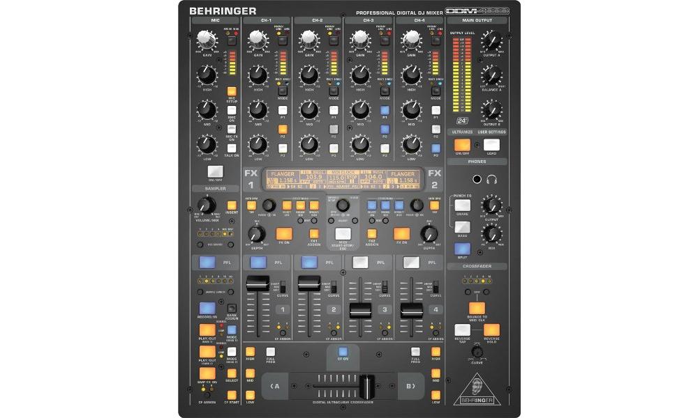 DJ-микшеры Behringer DDM 4000