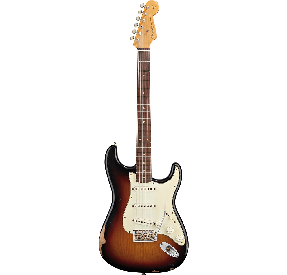 Электрогитары Fender ROAD WORN 60'S STRAT 3TSB