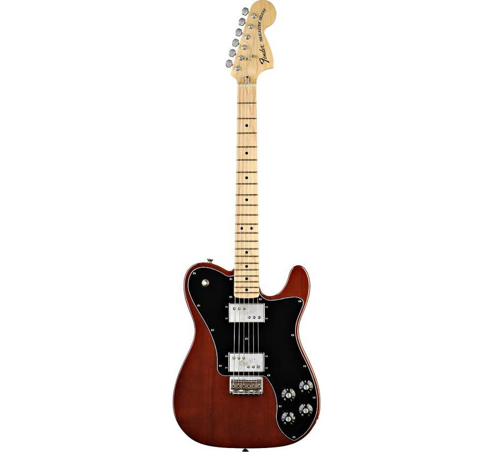 Электрогитары Fender 72 TELE DELUXE WALNUT