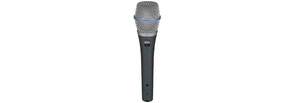 Все Микрофоны Shure BETA87C
