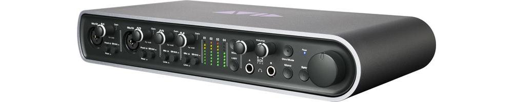 Звуковые карты Digidesign Pro Tools Mbox Pro
