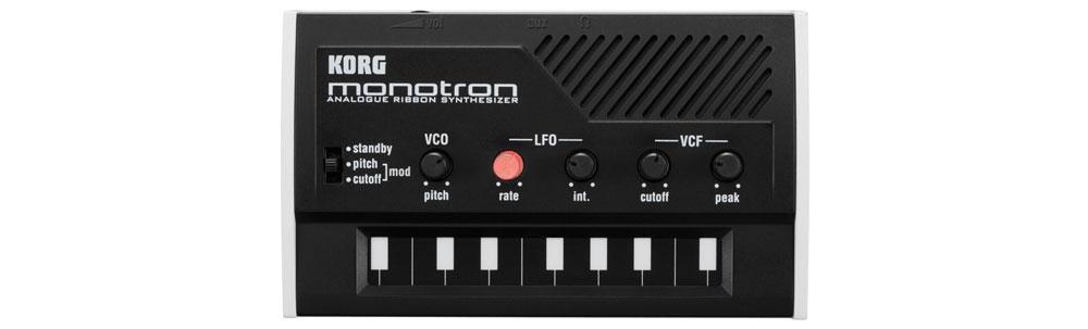 Синтезаторы и рабочие станции Korg Monotron