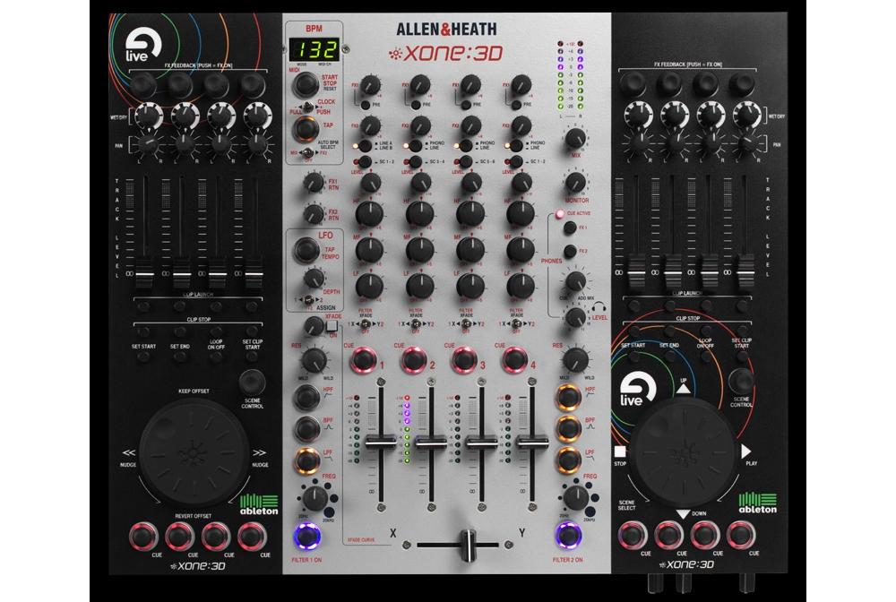 DJ-микшеры Allen & Heath Xone:3D