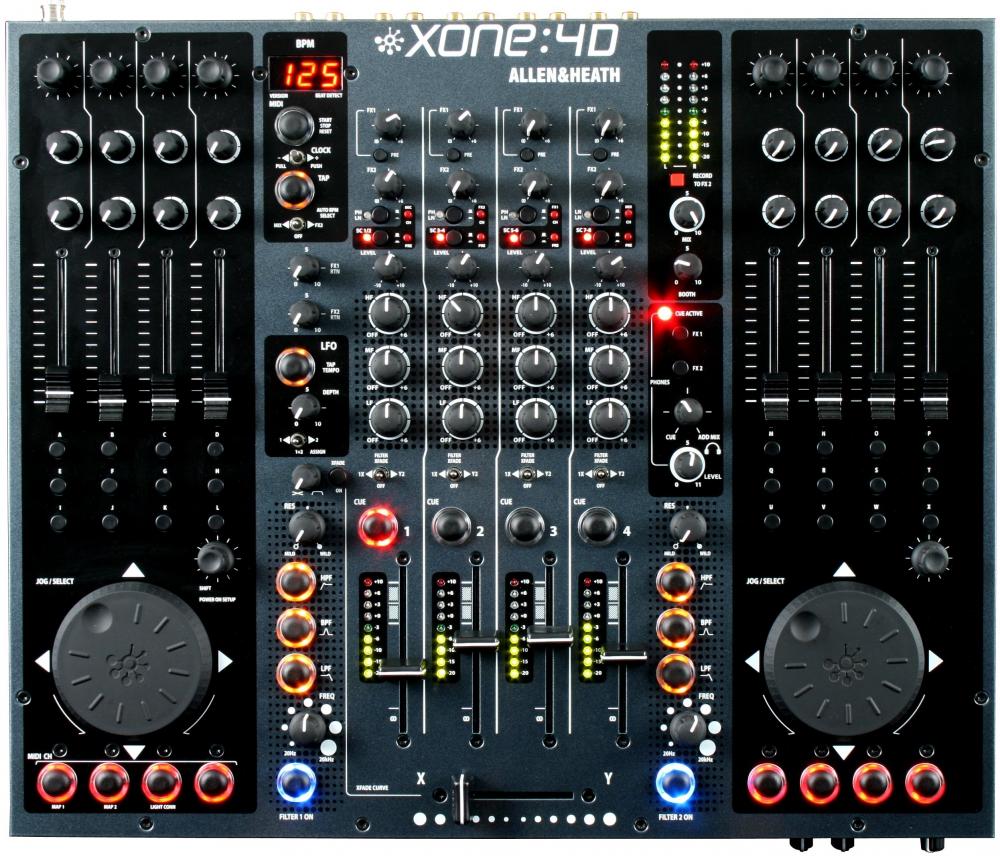 DJ-микшеры Allen & Heath Xone:4D