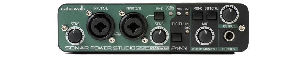 Звуковые карты Cakewalk Sonar Power Studio 660