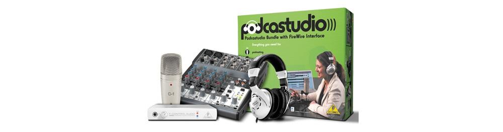 Звуковые карты Behringer PODCASTUDIO FireWire