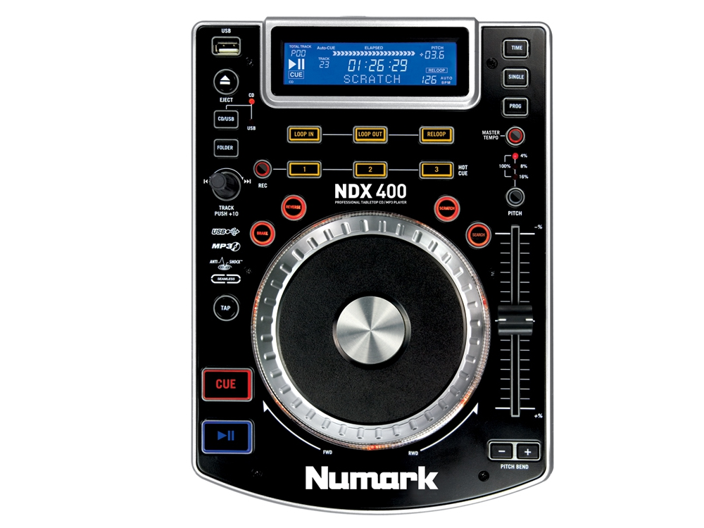 CD/USB-проигрыватели Numark NDX400