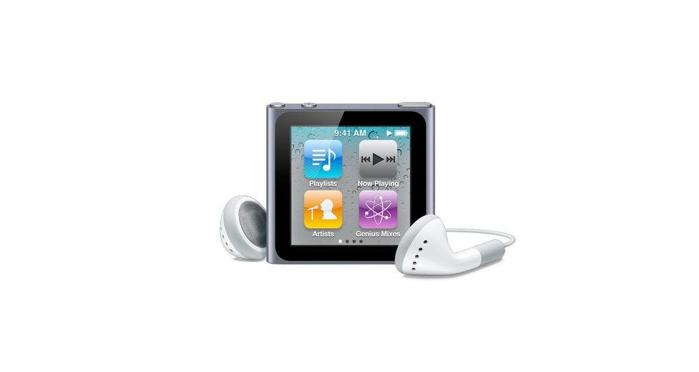 iPod nano Apple iPod nano 8Gb - Graphite [MC688QB/A]
