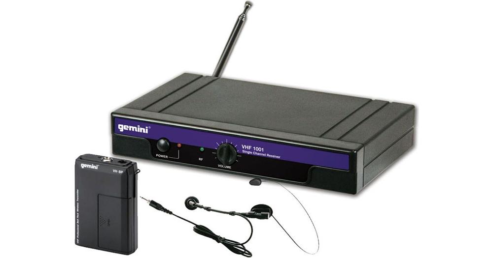 Все Микрофоны Gemini VHF-1001L