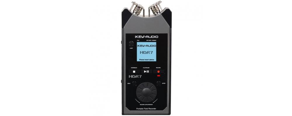 Аудио конверторы, рекордеры I-Key-Audio HDR-7