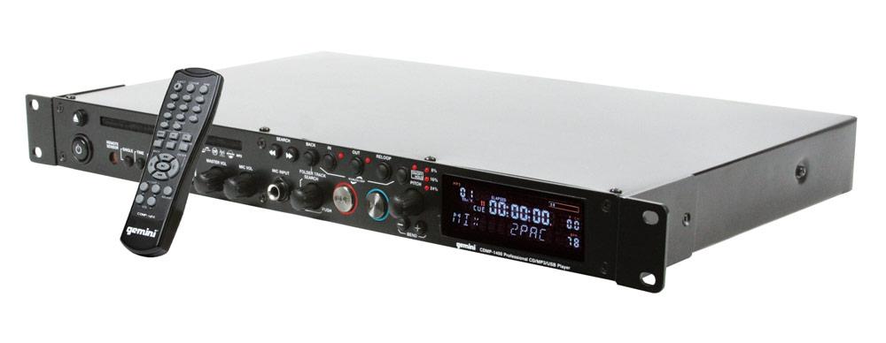 CD/USB-проигрыватели Gemini CDMP-1400