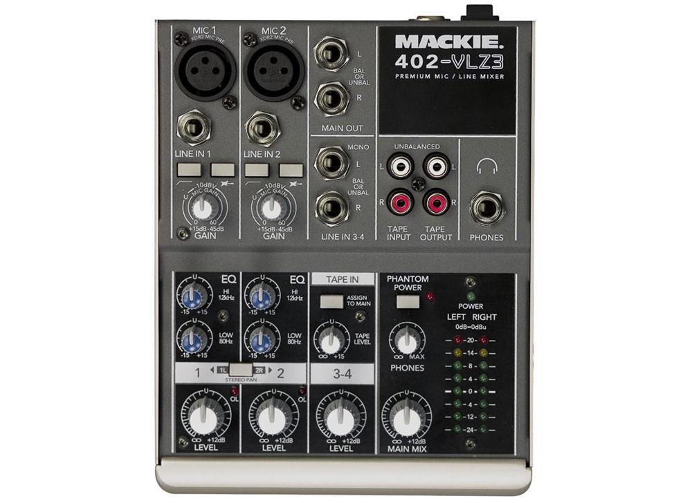 Микшерные пульты Mackie 402 VLZ 3